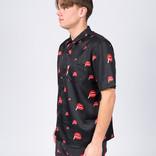 Post Details Kitsch Bowling Shirt Black