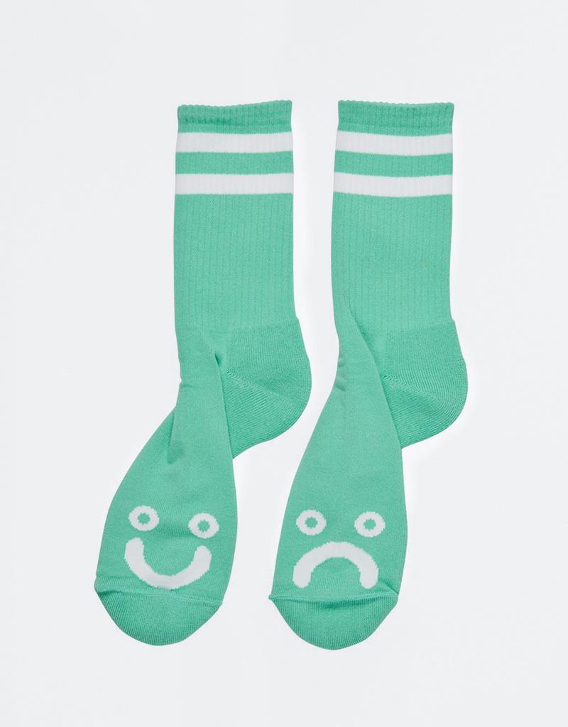 Polar Happy Sad Socks Mint