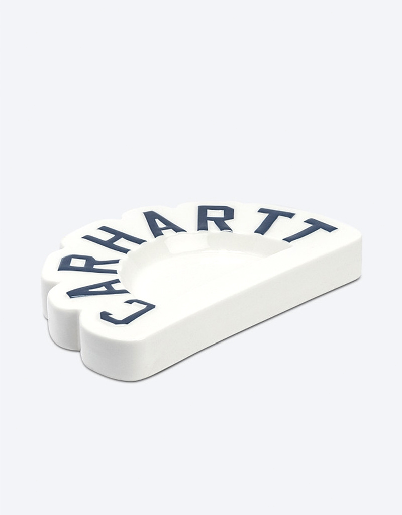Carhartt Arch Porcelain Ashtray White/Navy