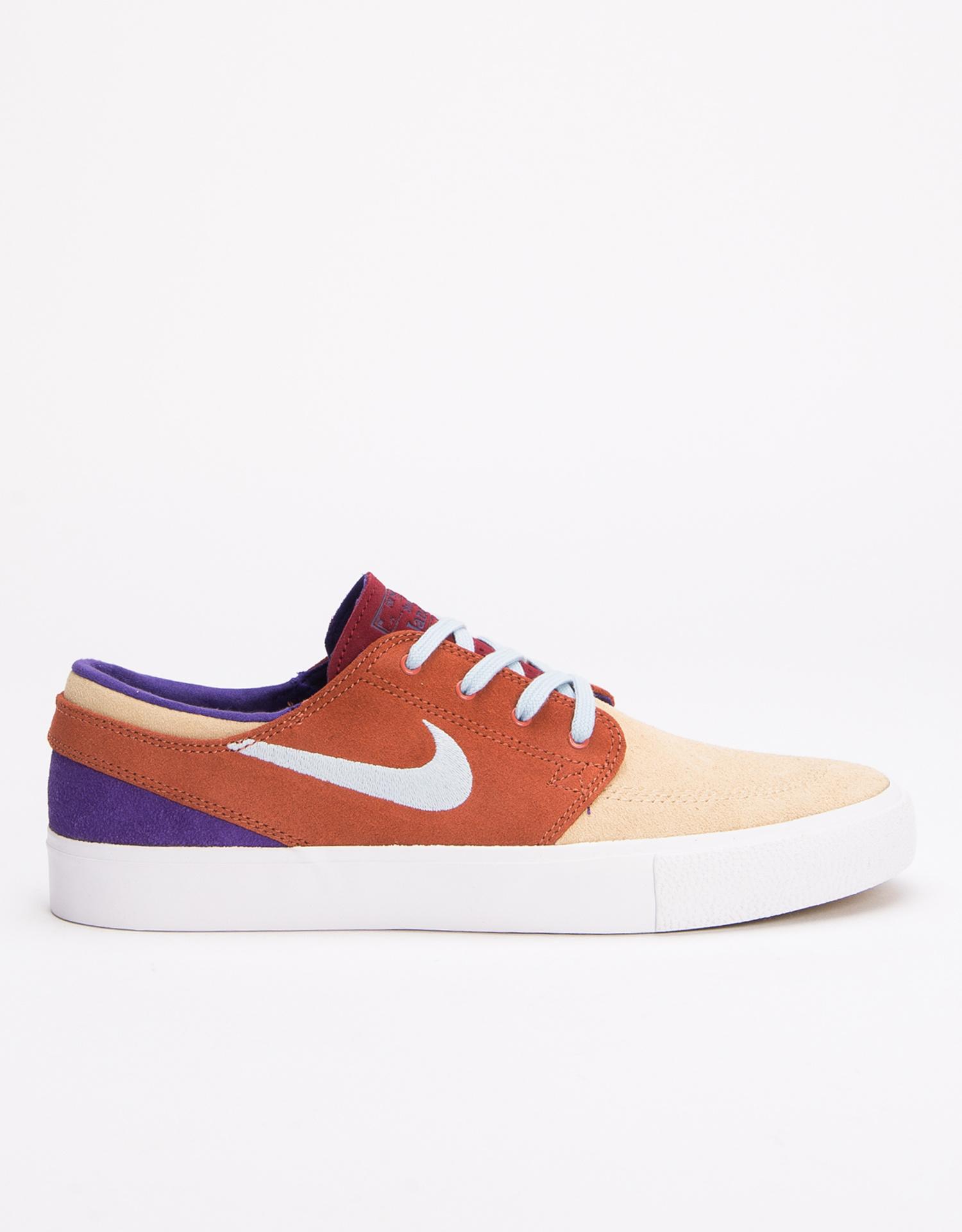Nike SB Zoom Janoski RM desert ore/lt armory blue-dusty peach