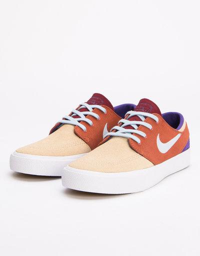 9d41a4f1f Nike SB Zoom Janoski RM desert ore lt armory blue-dusty peach