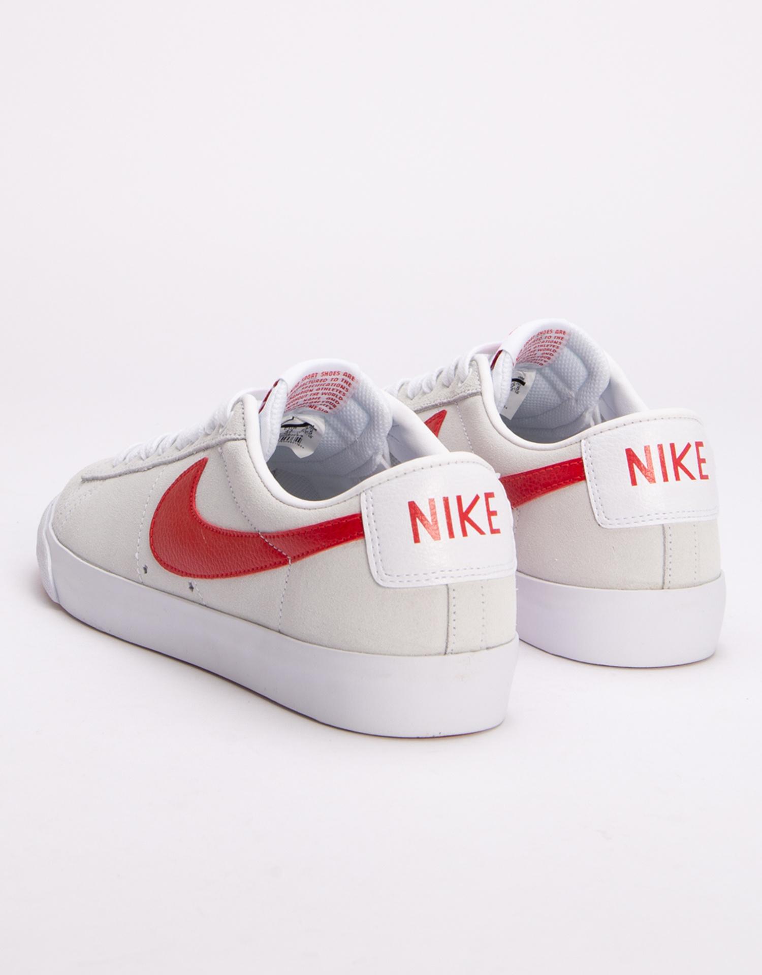 Nike SB Blazer Low GT White/University Red
