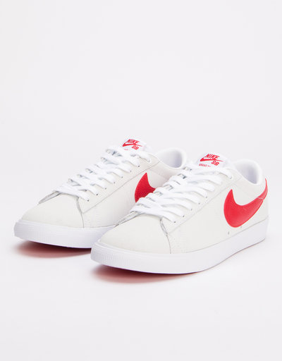 Nike SB Blazer Low GT White/University Red