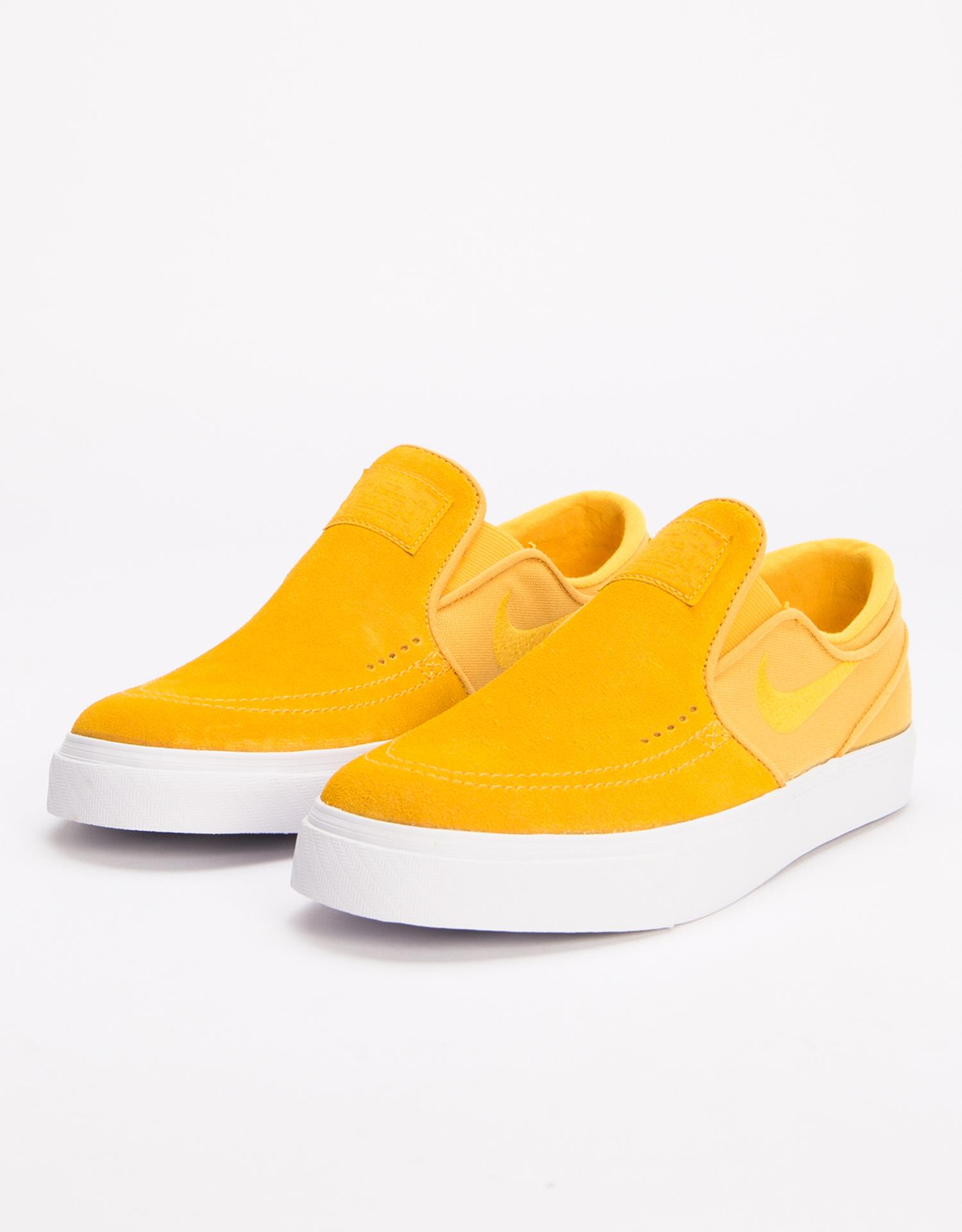 e24937e0faf42 Nike Sb Zoom Stefan Janoski Slip Yellow Ochre Yellow Ochre-White - Lockwood  Skateshop