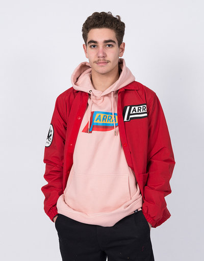 Parra Not Racing Coach Jacket Red