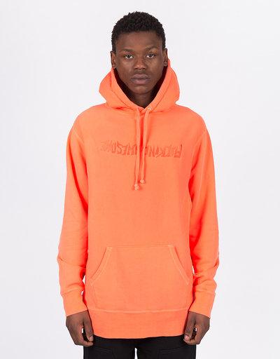 Fucking Awesome Tonal Upside Down Logo Hoodie Orange