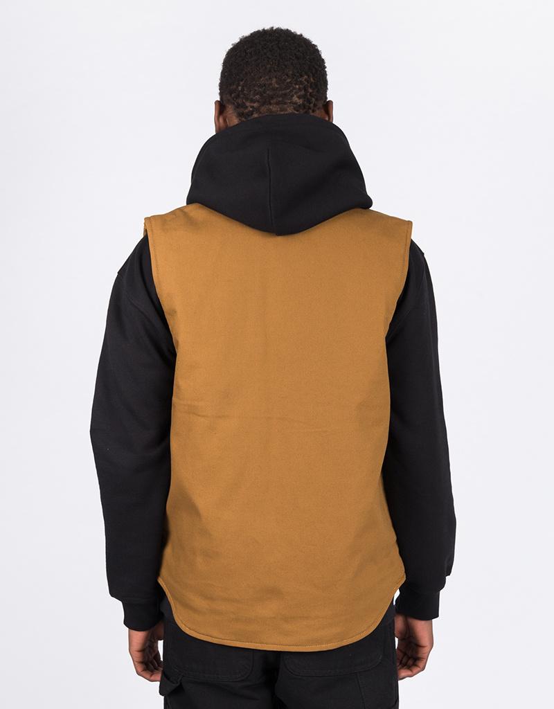 Carhartt Vest Cotton Hamilton Brown