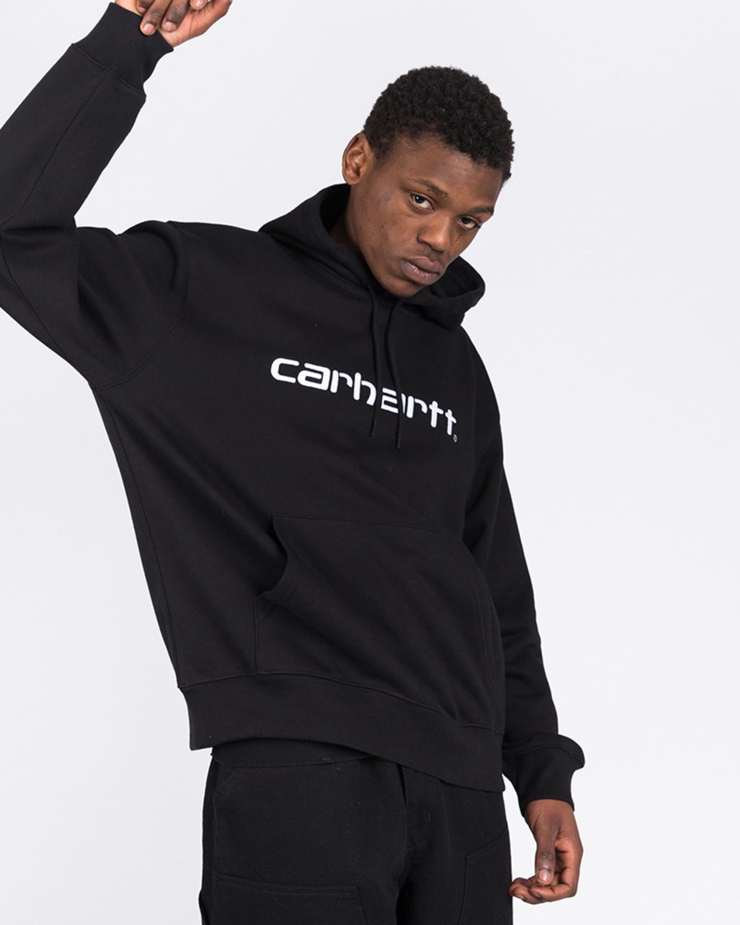 Carhartt Script Hoodie Black