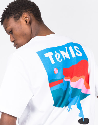 Parra Tennis T-Shirt White