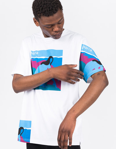 Parra No Beach T-Shirt White