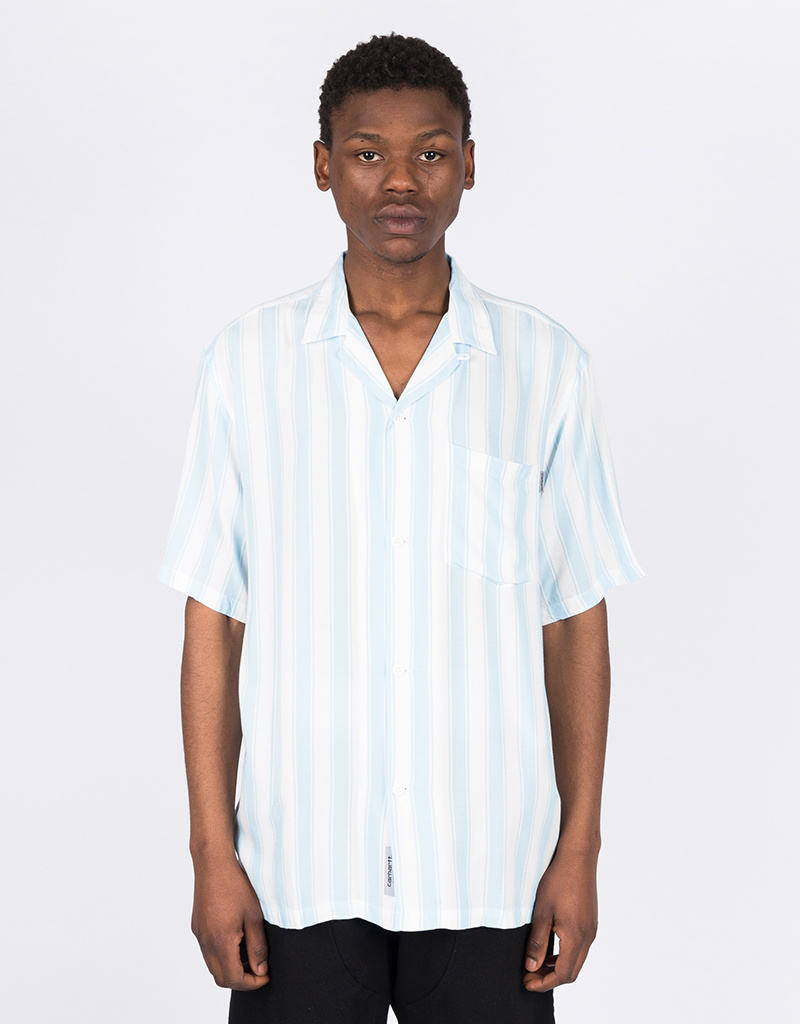 Carhartt Esper Striped Shirt Capri/Wax