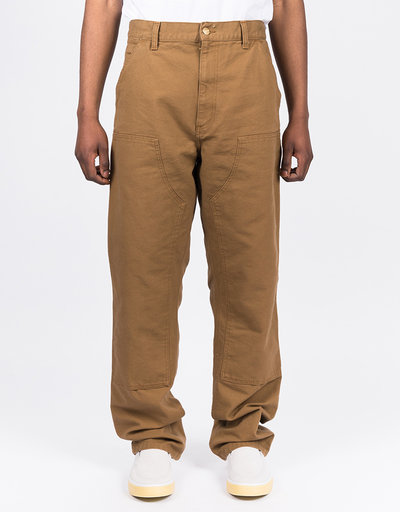 Carhartt Double knee pant Cotton Hamilton Brown