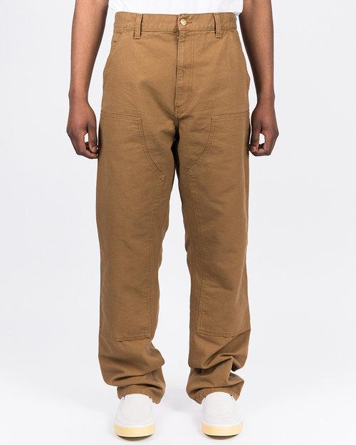 Carhartt Carhartt Double knee pant Cotton Hamilton Brown