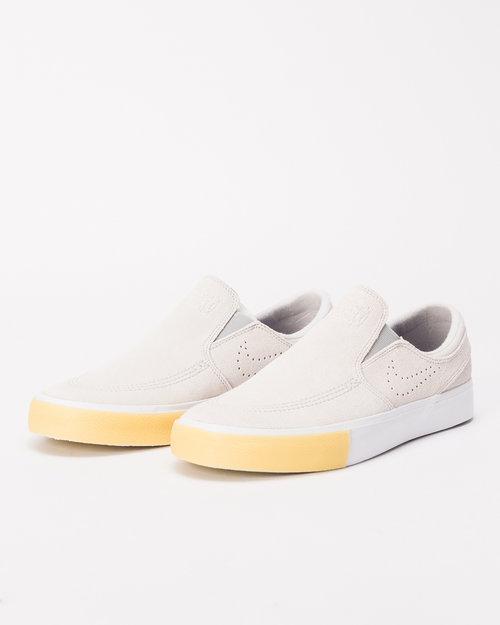 Nike SB Nike SB Zoom Janoski Slip RM SE white/white-vast grey-gum yellow