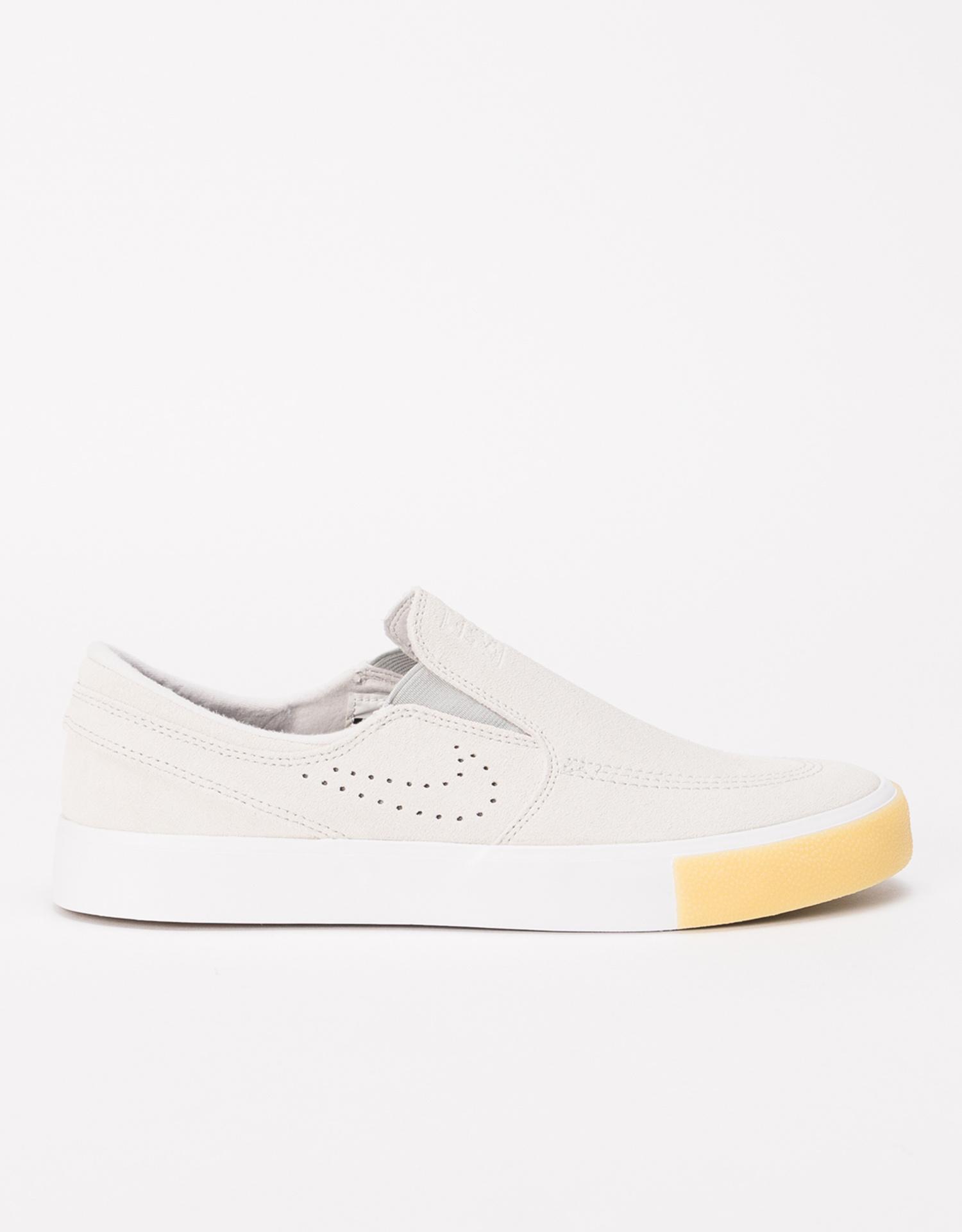 Nike SB Zoom Janoski Slip RM SE white/white-vast grey-gum yellow
