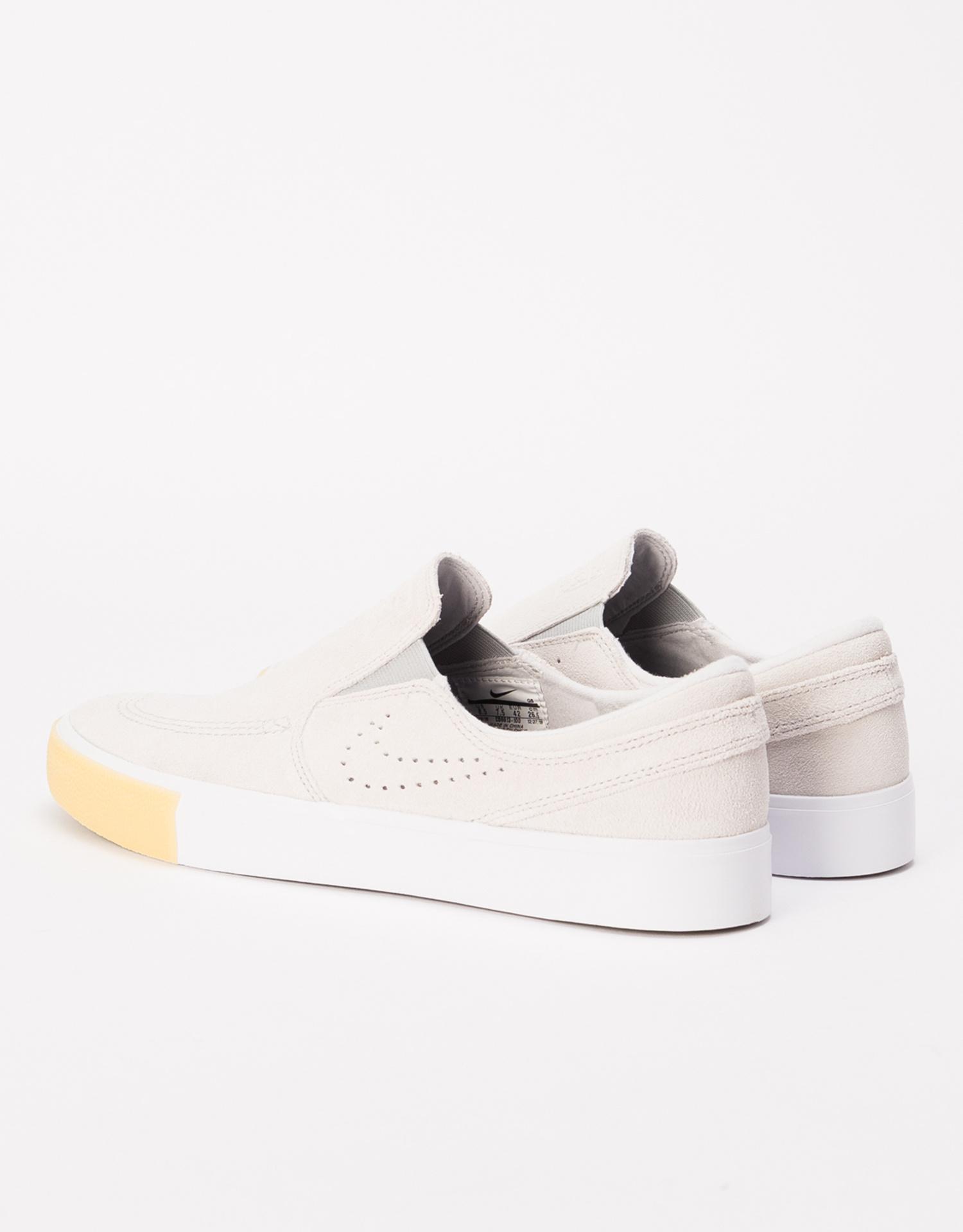 huge discount e4319 d2f5a ... Nike SB Zoom Janoski Slip RM SE white white-vast grey-gum yellow ...