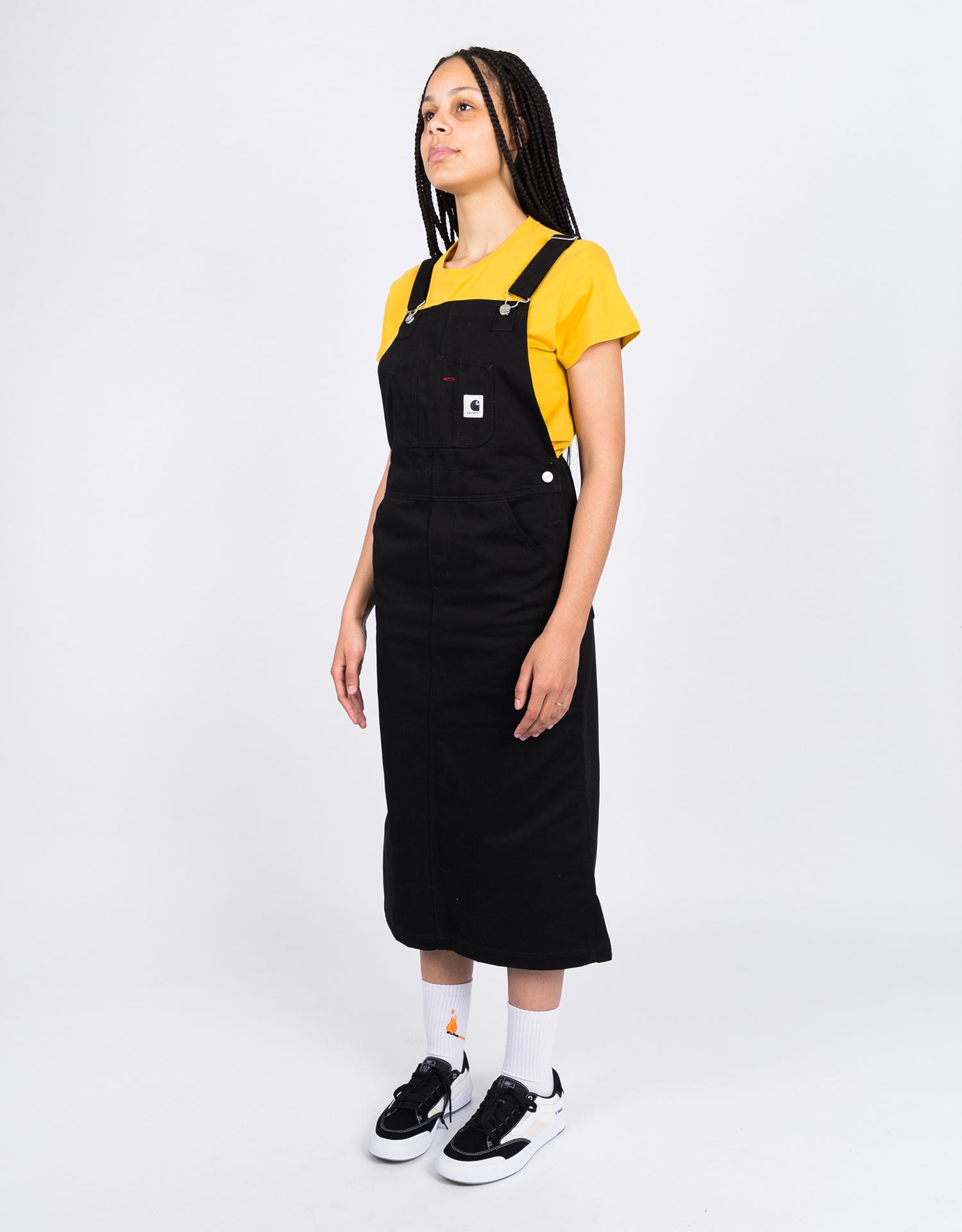 Carhartt W Bib Skirt Long Black