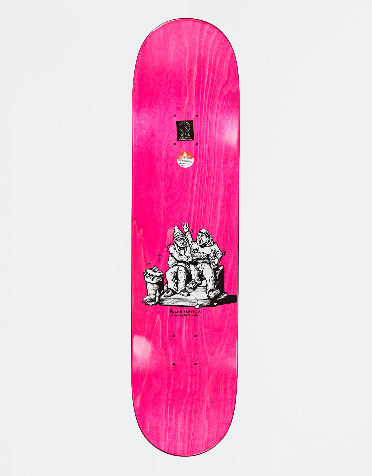 "Polar Herrington Cake J 1992 9.25"" Deck"