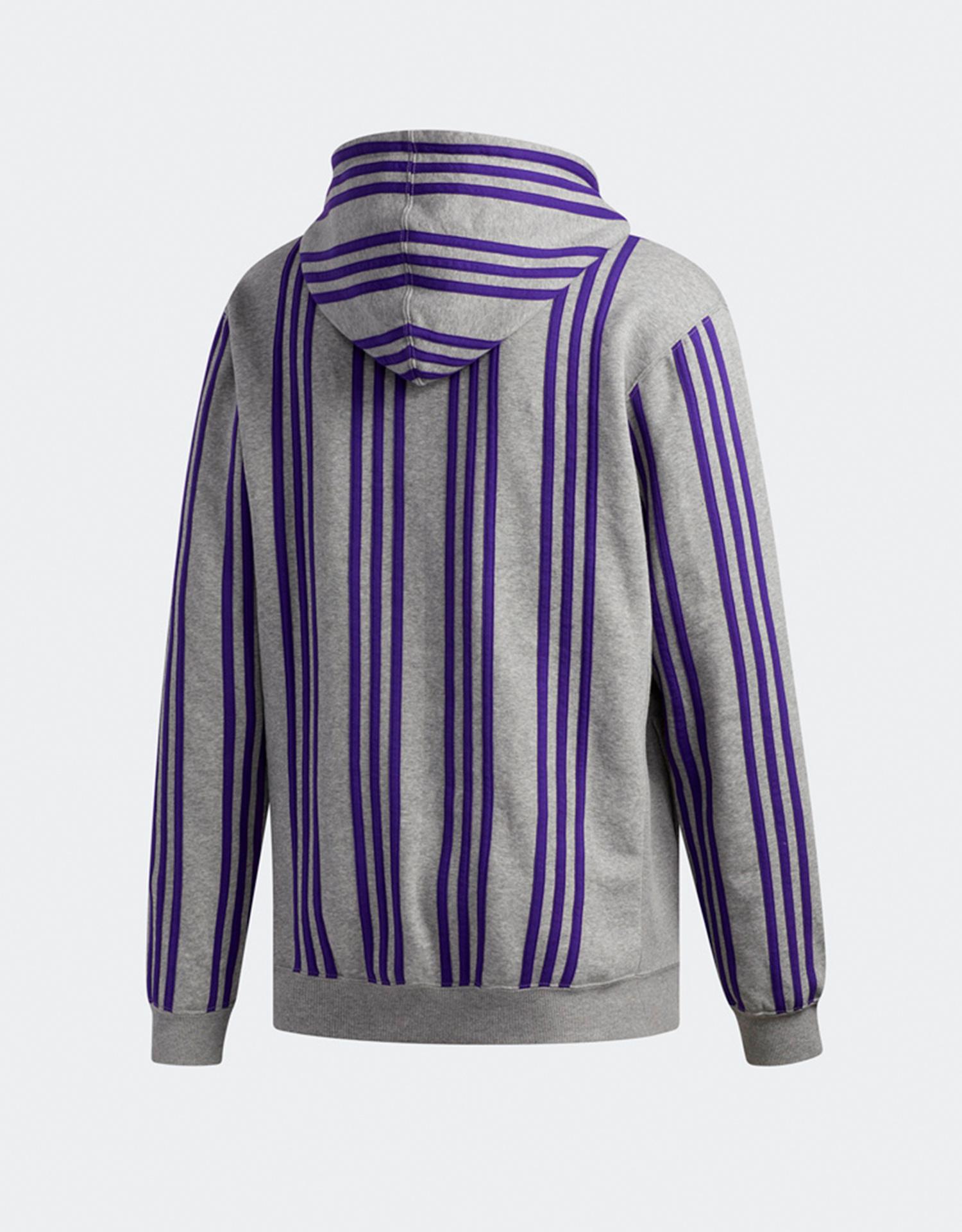 Adidas X Hardies hoodie corhtr/cpurpl