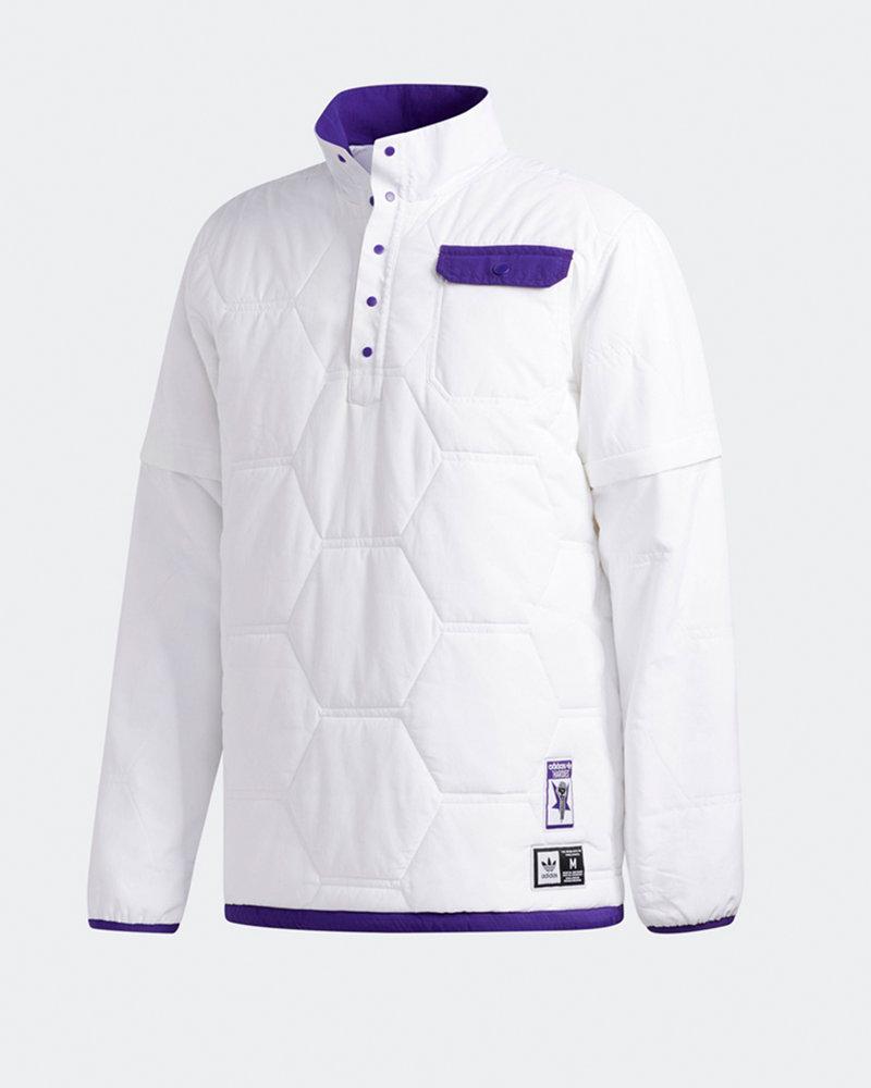 adidas Skateboarding Adidas X Hardies jckt             white/cpurpl