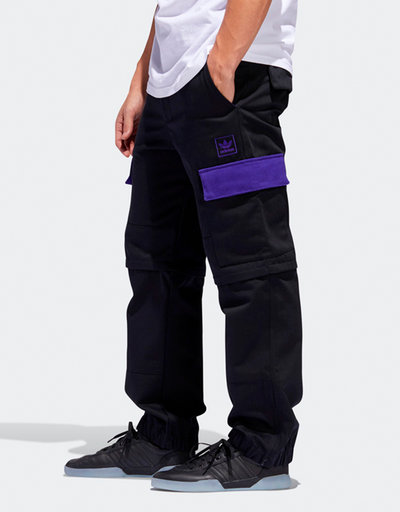 Adidas X hardies pants            black/cpurpl