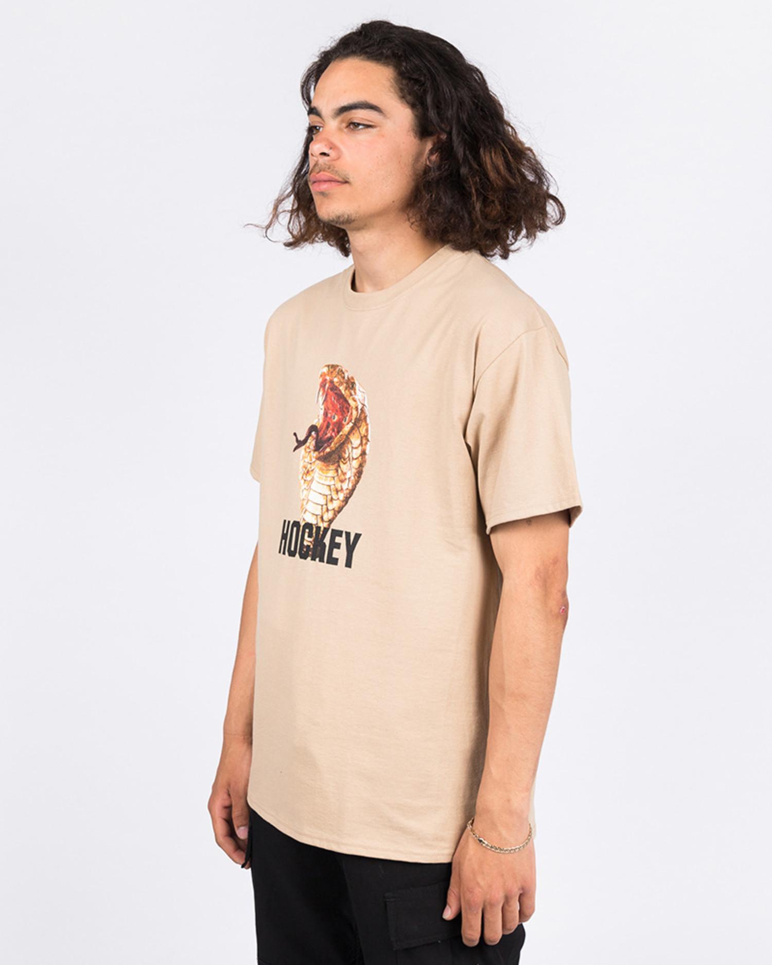 Hockey Snake T-shirt Sand