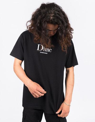 Dime Underwear T-Shirt Black