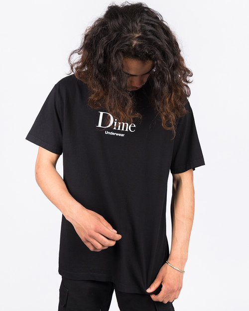 Dime Dime Underwear T-Shirt Black
