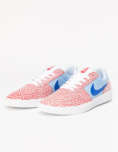 Nike SB Team Classic white/game royal-psychic blue