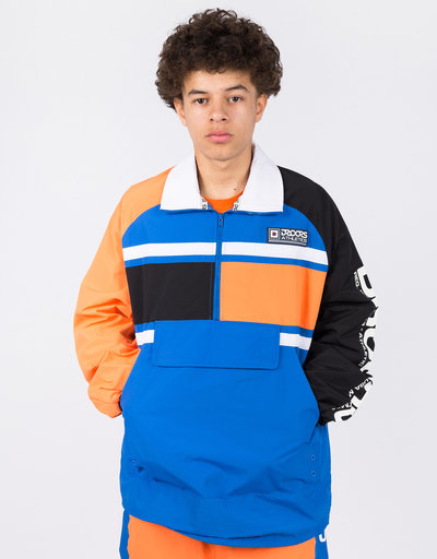 Droors Lynx Jacket Bright Orange/Navy/Black