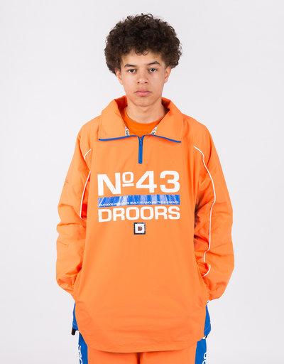 Droors Ocelot Jacket Bright Orange/Navy