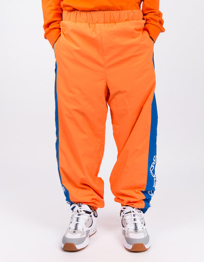 Droors Ocelot Pants Bright Orange/Navy