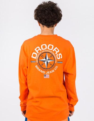 Droors Navigator Longsleeve Orange/Bright Orange