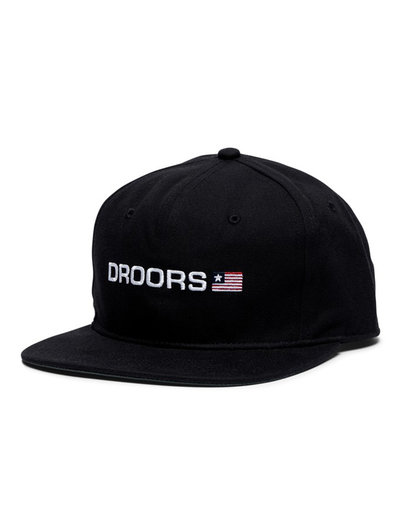 Droors Flag One Hat Black/Oxford