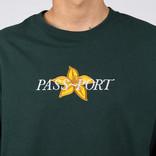Passport Daffodil Appliqué Longsleeve Forest Green