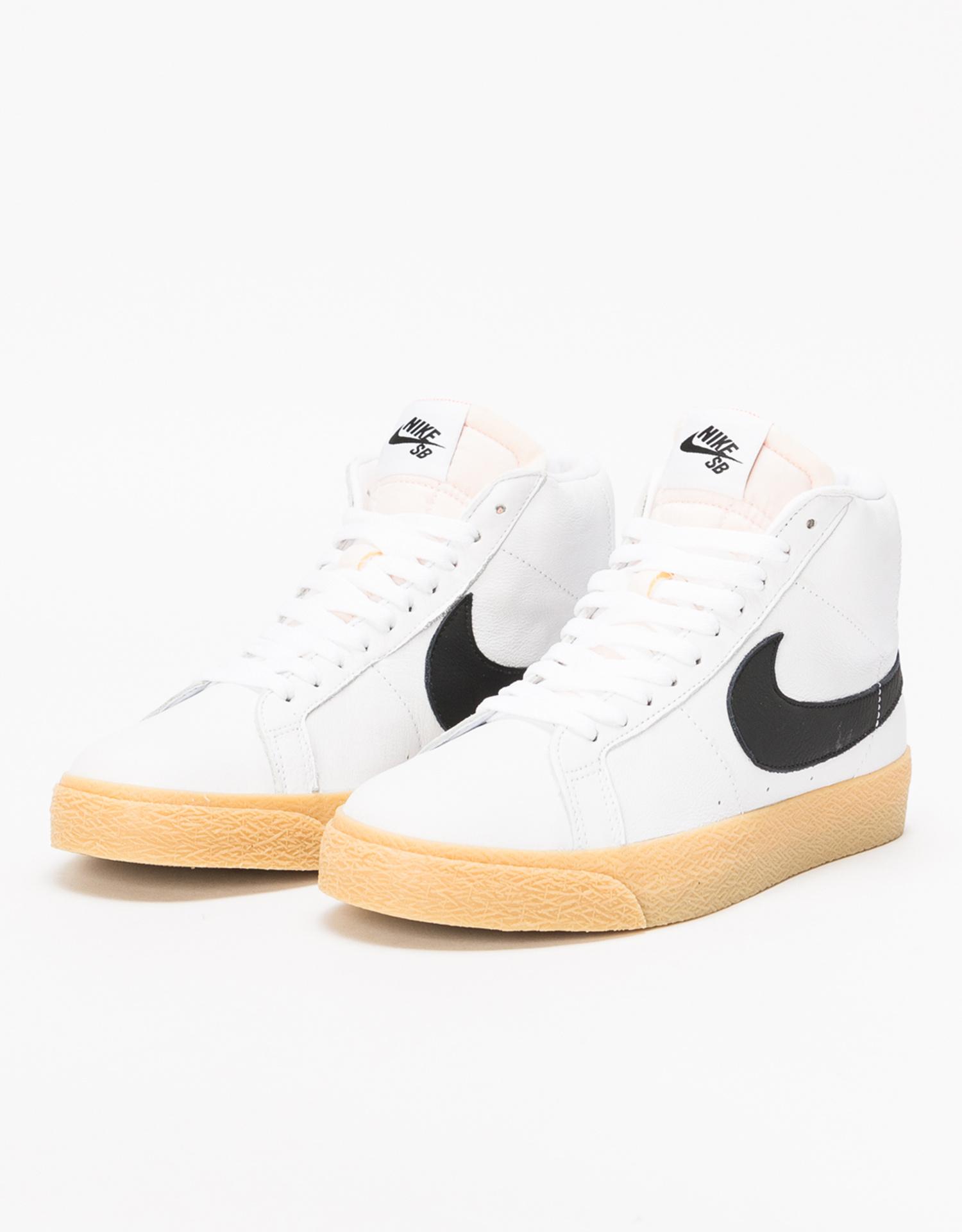 promo code 47d30 a73f4 Nike SB Zoom Blazer Mid ISO Orange Label white black-safety orange -  Lockwood Skateshop