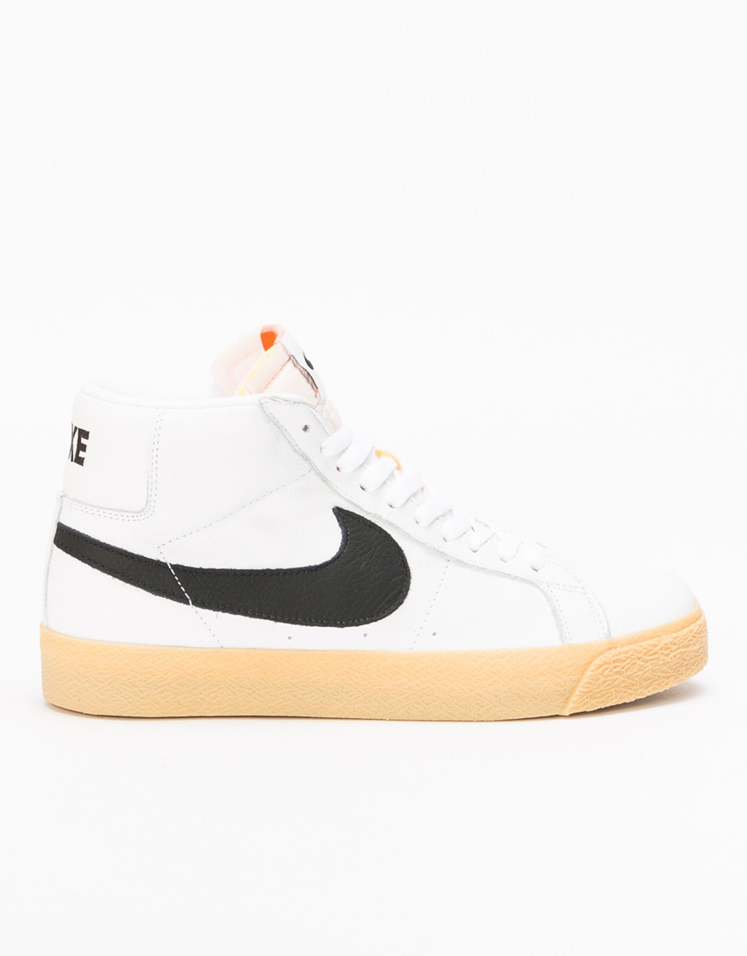 Nike SB Zoom Blazer Mid ISO Orange Label white/black-safety orange