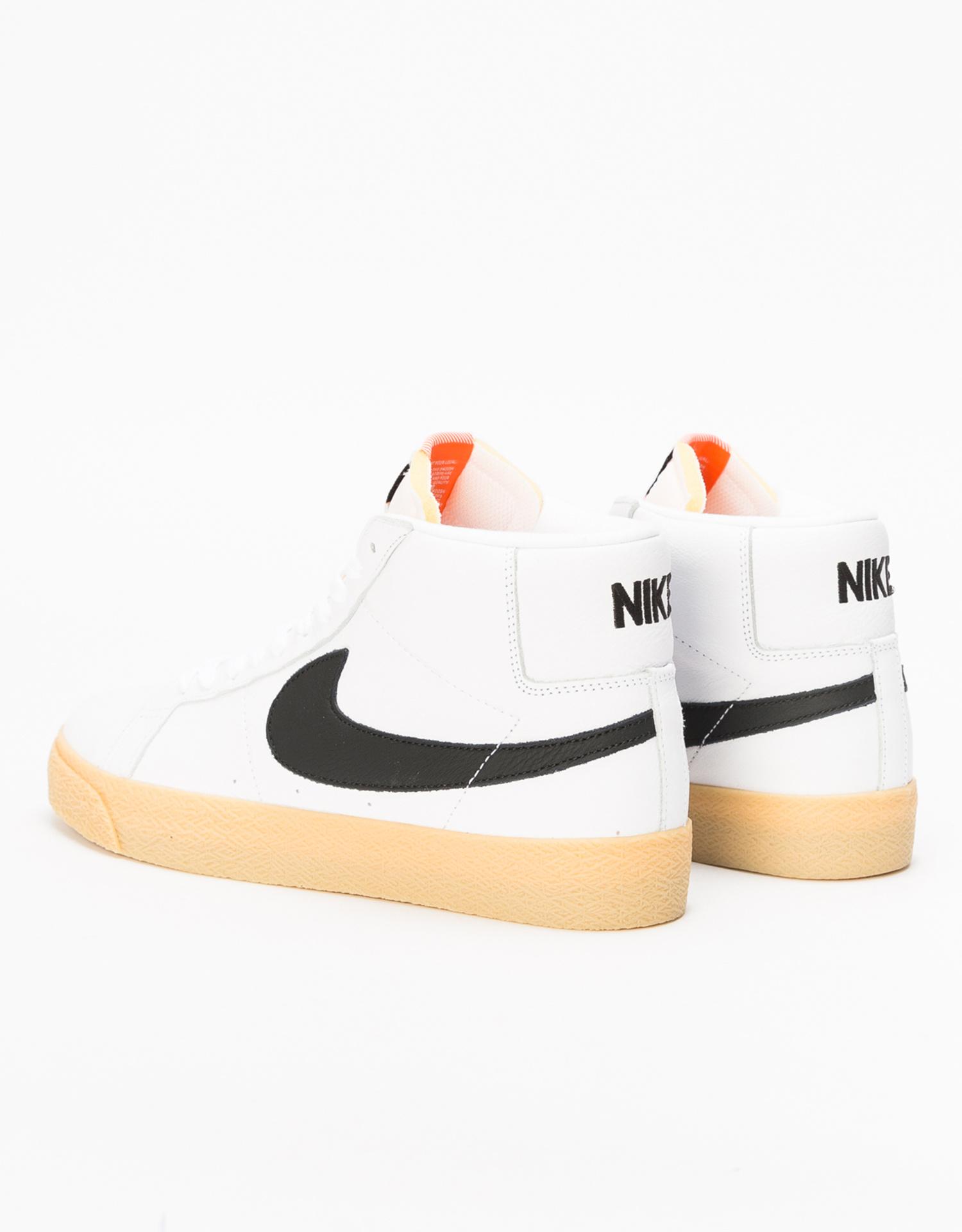 separation shoes 2f709 1f665 ... Nike SB Zoom Blazer Mid ISO Orange Label white black-safety orange ...