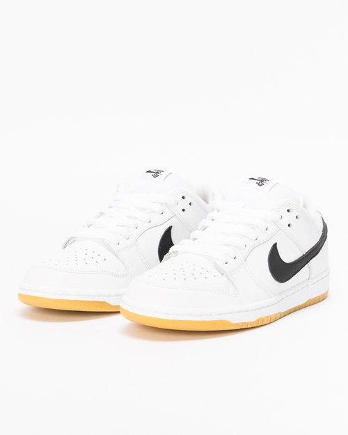 Nike SB Nike SB Dunk Low Pro Iso Orange Label  white/black-white-gum light brown