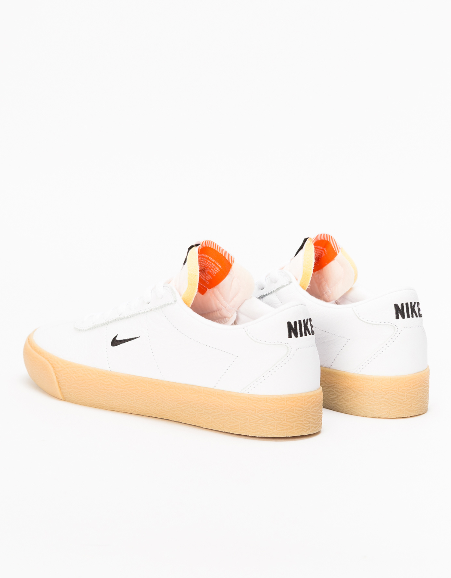 outlet store 5cbe5 d6d98 ... Nike SB Zoom Bruin Iso Orange Label White Black-Safety Orange ...
