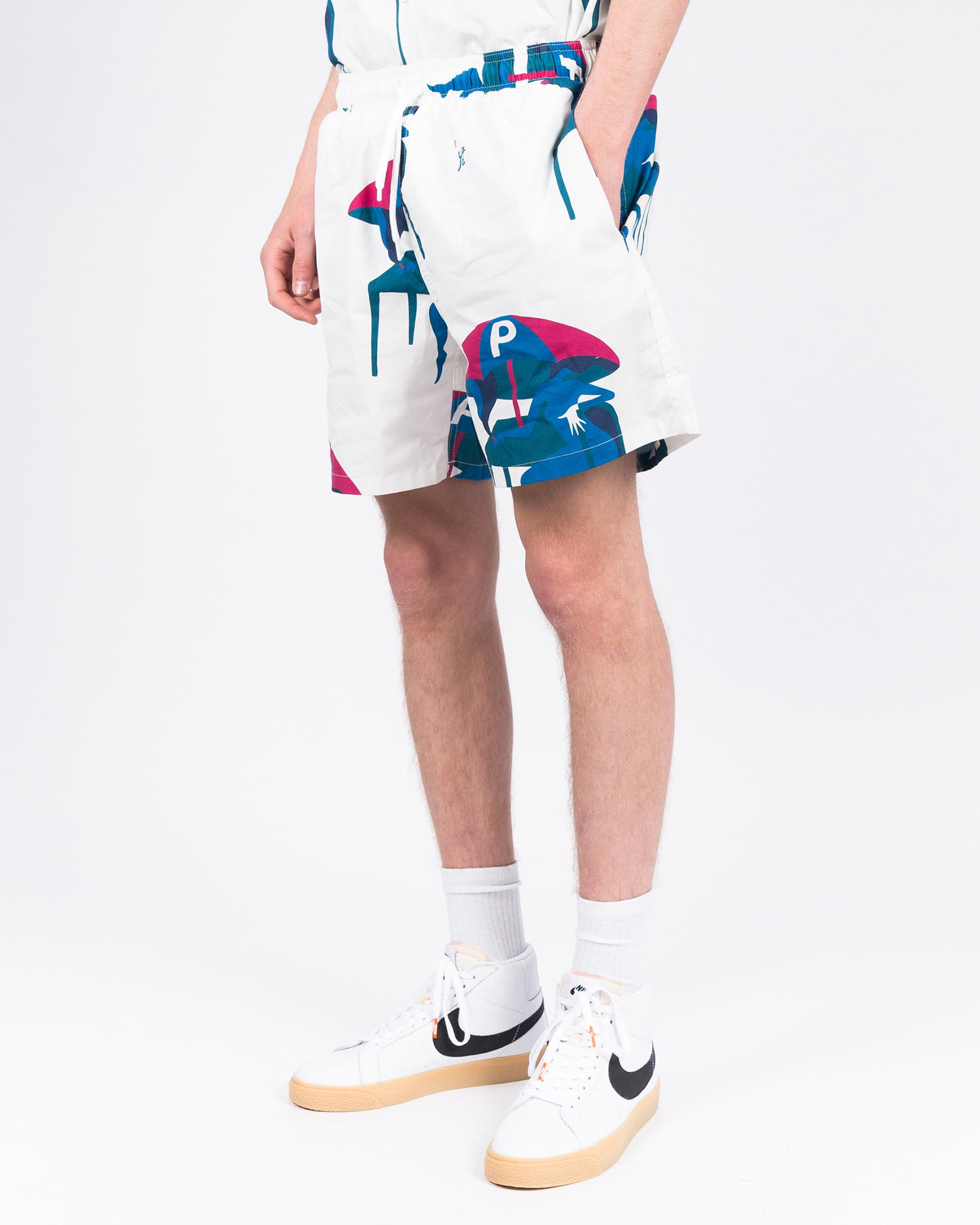 Parra Monaco Summer Trunks Off White