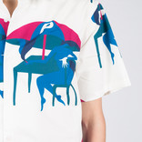Parra Monaco Camp Collar Shirt Off White