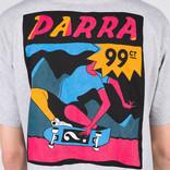 Parra Indy Tuck Knee T-Shirt Ash Grey