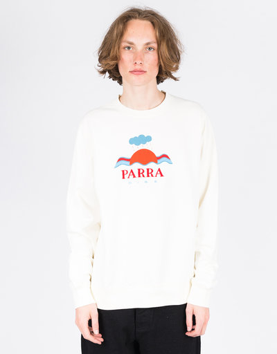 Parra Sweater Dise Crewneck Natural