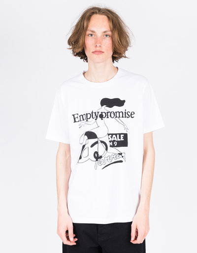 Parra Empty Promise T-Shirt White