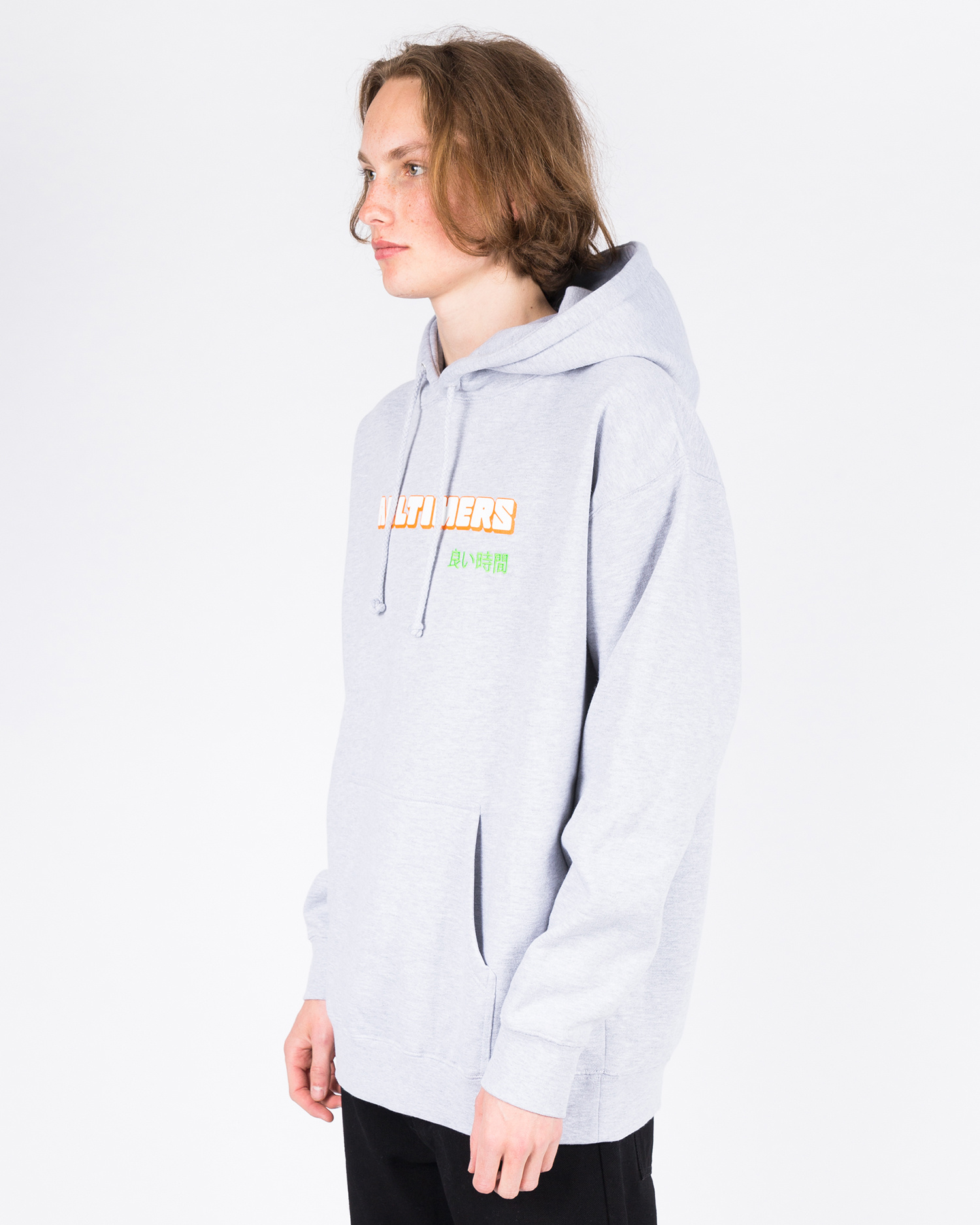 Alltimers Blocked Hoodie Heather Grey