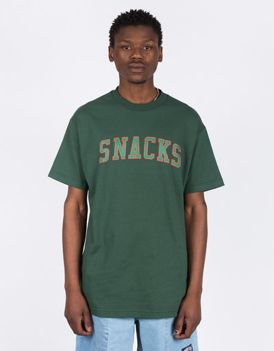 Quartersnacks Snacks Varsity T-Shirt Forest Green