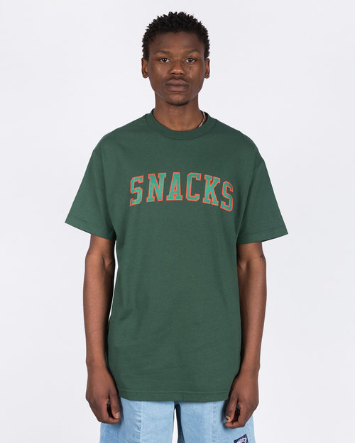 Quartersnacks Quartersnacks Snacks Varsity T-Shirt Forest Green