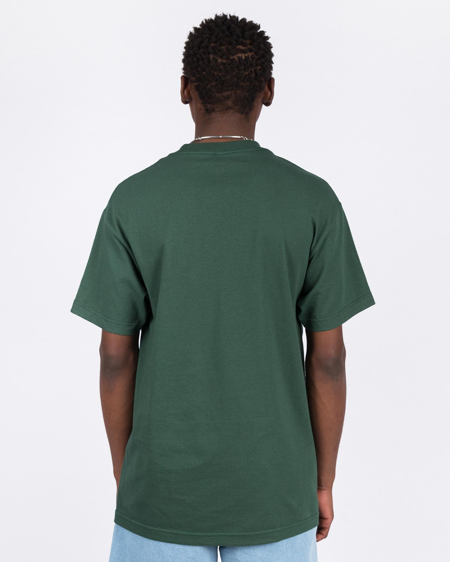Quartersnacks Snacks Varsity T-Shirt Forest Green