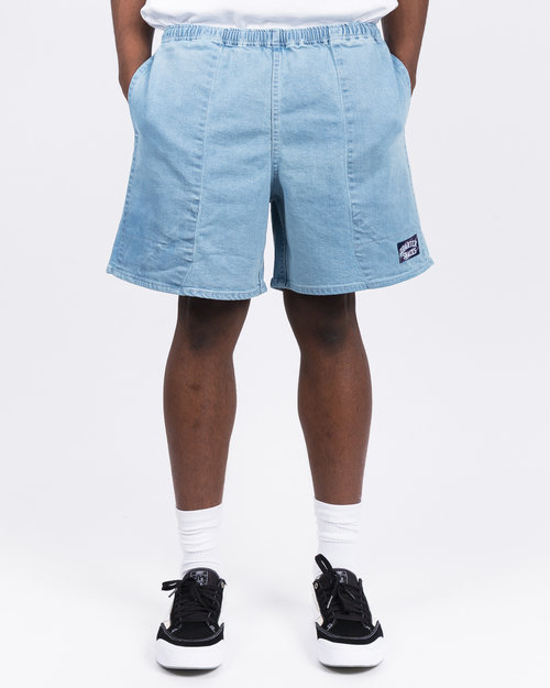Quartersnacks Quartersnacks Denim Shorts Light Blue